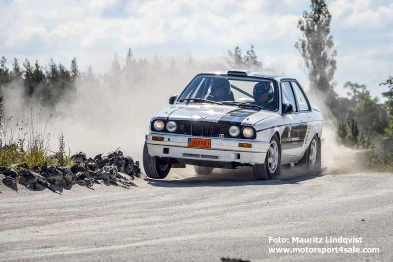 Christoffer Jacobsson tar APEX med BMWn