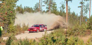 Patrik Flodin i Rally Bilmetro