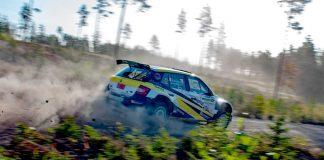 Mattias Adielsson tvåa i Rally Bilmetro