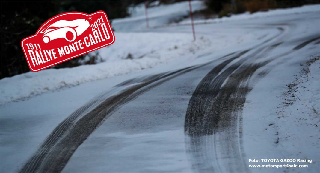 TV-tider för 2021 års Rallye Monte Carlo