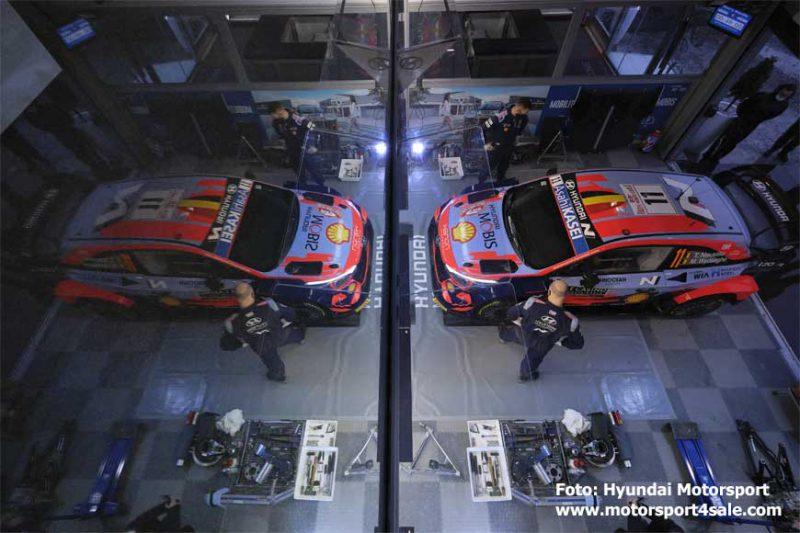 Hyundai Motorsport Rallye Monte Carlo 2021