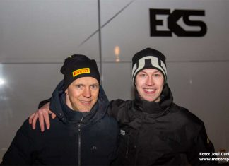 Mattias Ekström och Emil Bergkvist