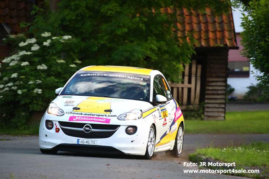 Sebastian i Opel Adam Cup
