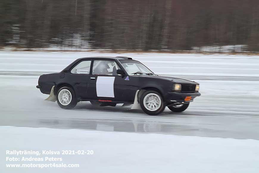 Rallyträning i Kolsva