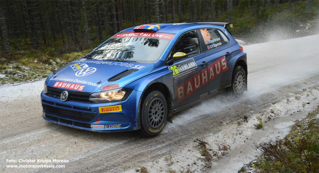 Johan Kristoffersson inför Arctic Rally Finland 2021