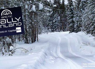 TV-tider för Arctic Rally Finland 2021