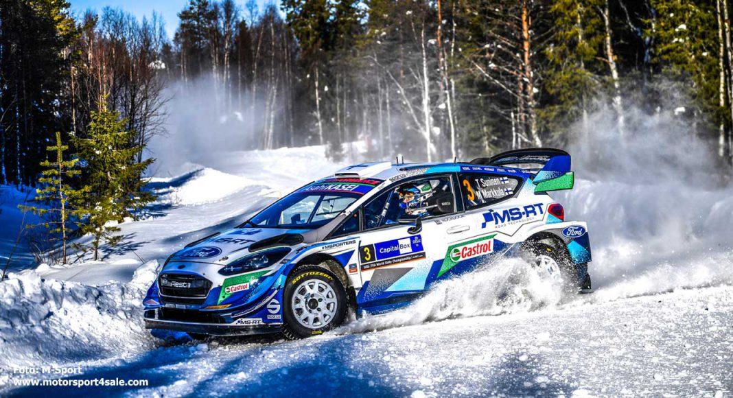 Teemu Suninen Arctic Rally Finland
