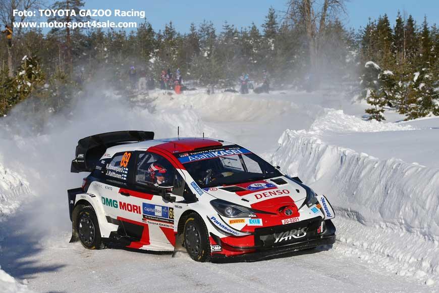 Kalle Rovanperä tvåa i Arctic Rally Finland