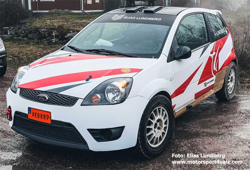 Elias Lundbergs nya Ford Fiesta