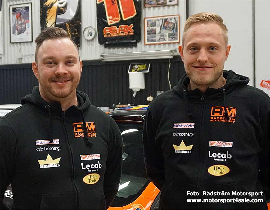 Johan Johansson och Dennis Rådström