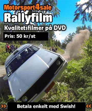 Rallyfilm på DVD
