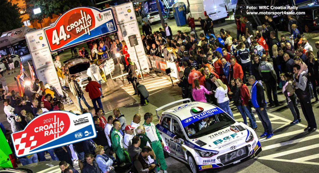 TV-tider och resultat från WRC Croatia Rally