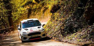 Dennis Rådström snabb på shakedown inför WRC Croatia Rally