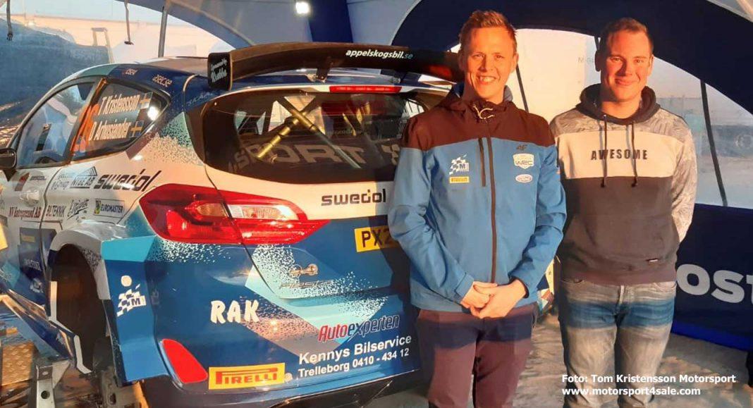 Tom och David inför WRC2-debuten i Kroatien