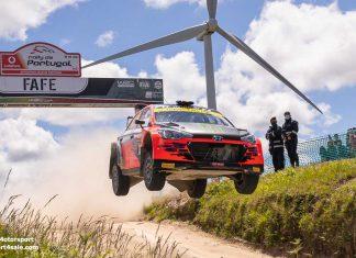 Oliver Solberg om femteplatsen i Rally de Portugal