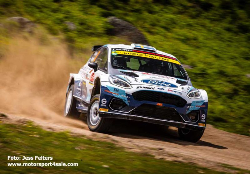 Tom Kristensson i Rally de Portugal