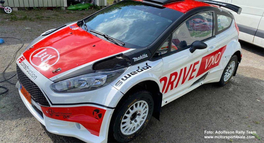 Robin Adolfsson gör debut med sin nya Ford Fiesta R5 EVO 2