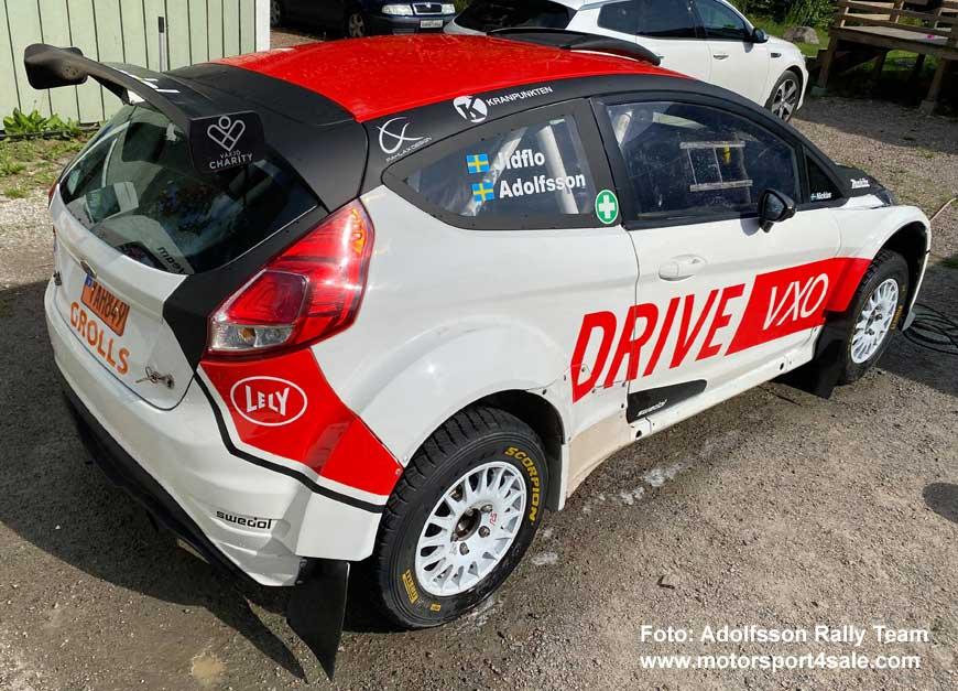 Robin Adolfssons nya Ford Fiesta R5 EVO 2
