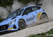 Oliver Solberg inför WRC Renties Ypres Rally Belgium 2021