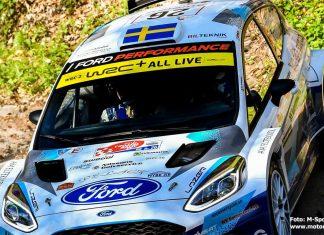 Tom Kristensson inför WRC Renties Ypres Rally Belgium 2021