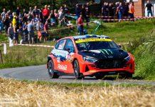Ledande Oliver Solberg fick ett ELändigt slut i Ypres Rally Belgium 2021
