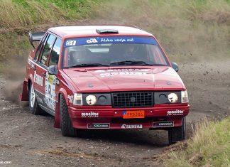 Patrik och Göran fortsatte segersviten i Rally Killingen